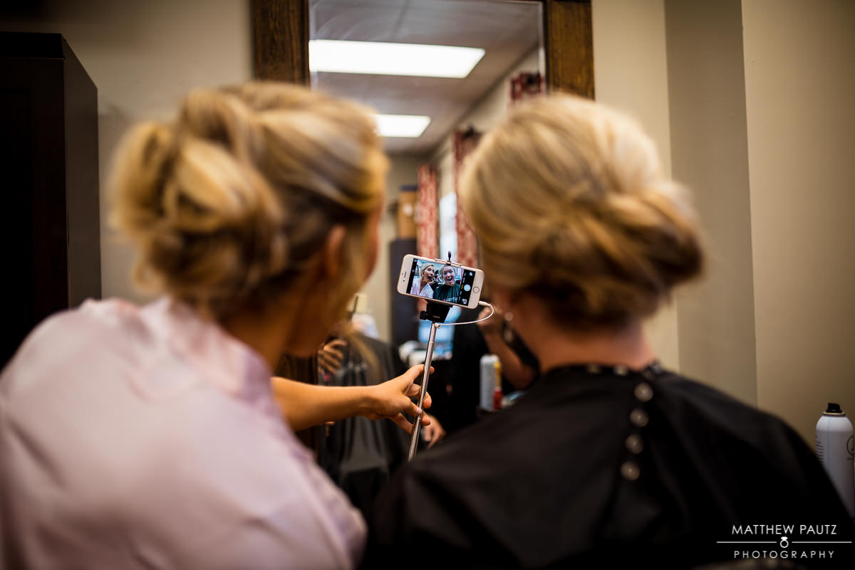 Artistic Cutters Wedding Preparation Photos | Greenville SC