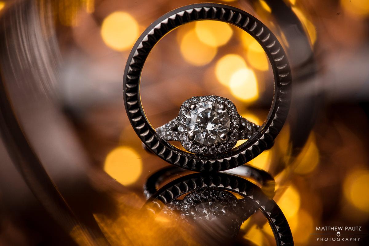 The Oaks Wedding Photos | wedding rings