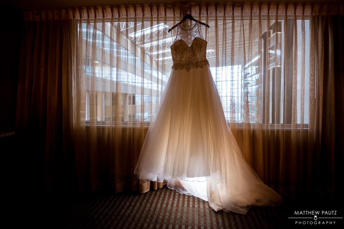 Hyatt Regency Wedding Photos | wedding dress