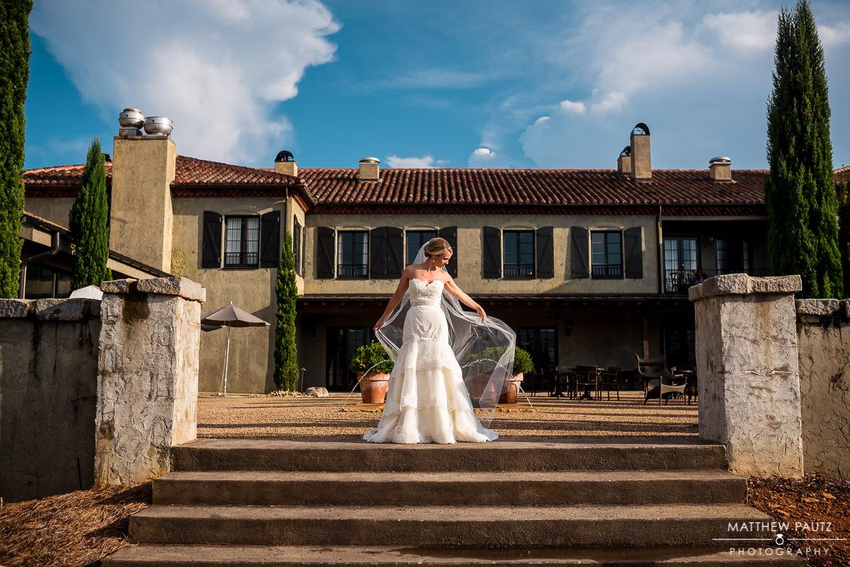Hotel Domestique bridal photos