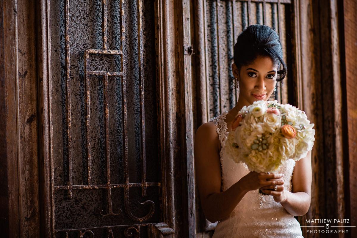 Bridal photos at Revel