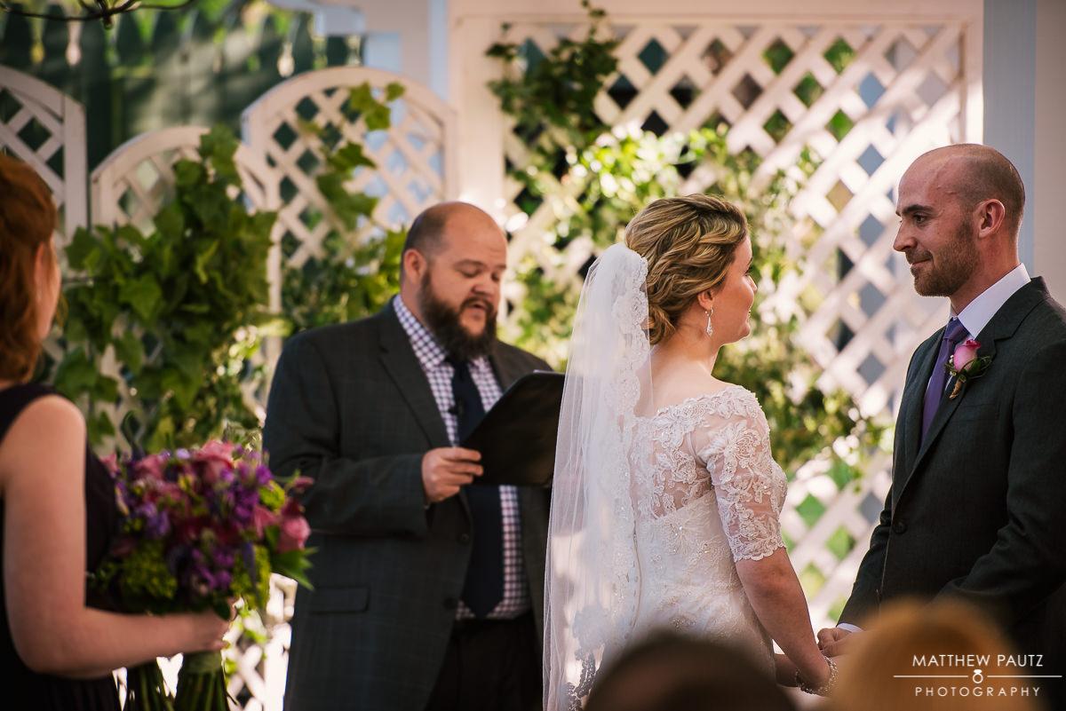 Twigs Tempietto Wedding ceremony photos