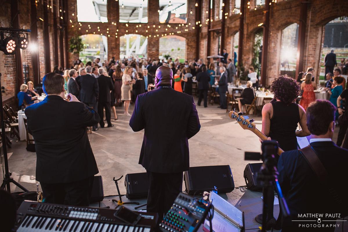 Shimmer Band wedding reception