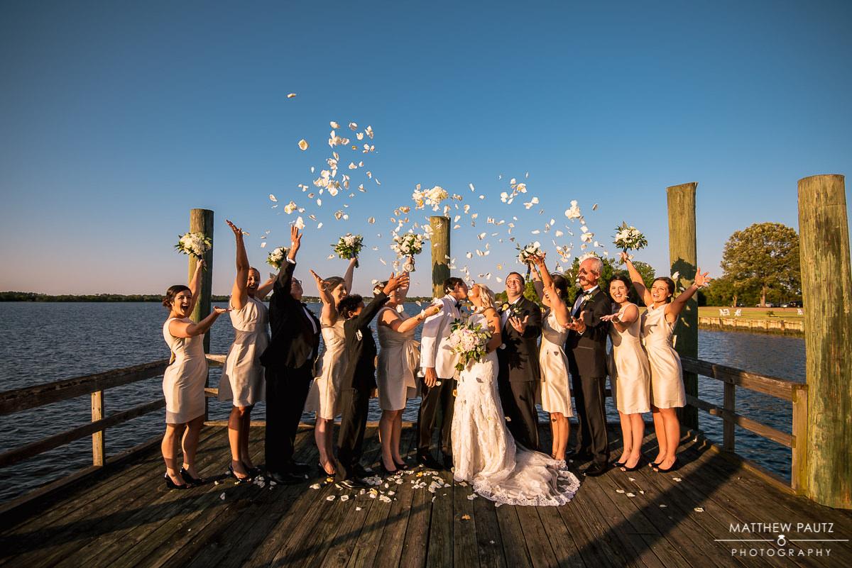 Wedding photos at The Island House, Johns Island