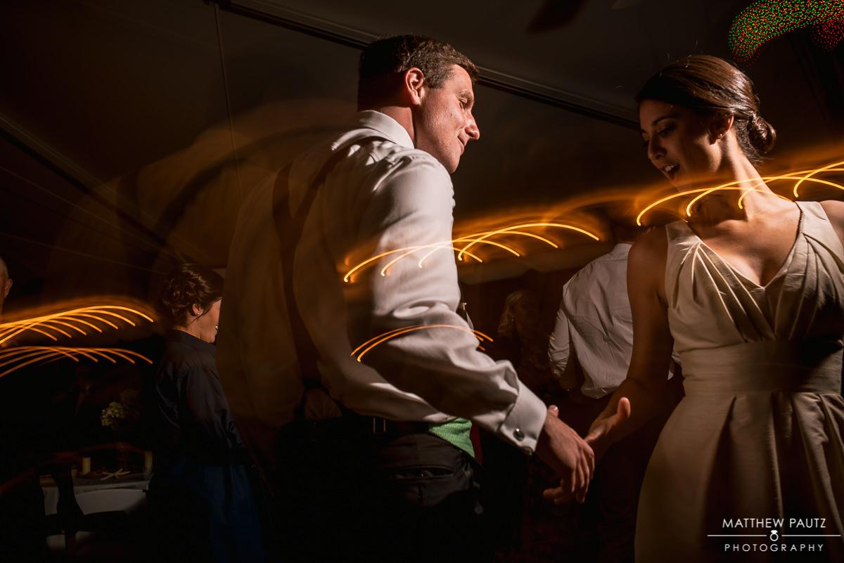 The Island House wedding reception photos
